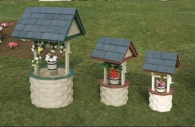 Декоративные домики для обустройства скважины на участке