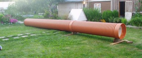 Фото собранной колонны для ремонта колодца