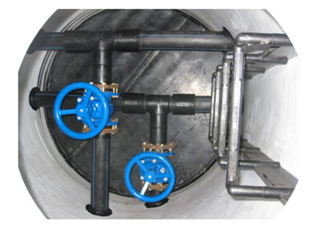 Перепадный канализационный колодец: типовой проект