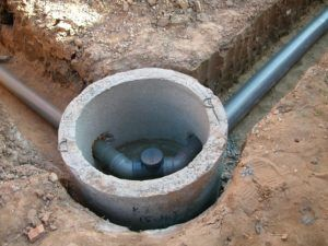 Применение бетонного кольца