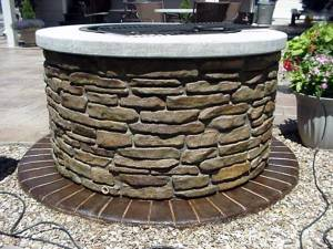 Пример отделки декоративным камнем
