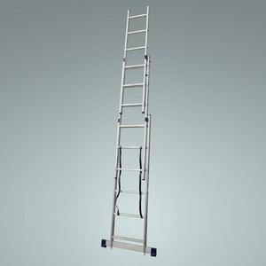 Раскладная металлическая лестница для колодца