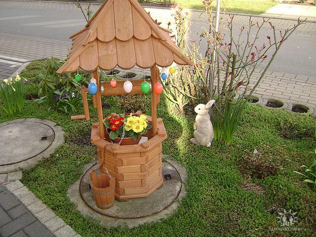 Декор для сада своими руками с фото