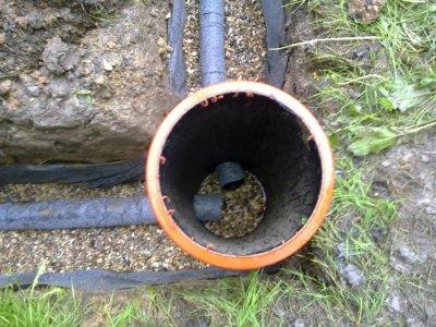 устройство канализации с высоким уровнем грунтовых вод