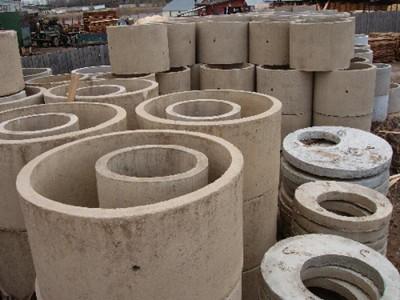 ЖБИ кольца и другие элементы для сооружения колодца для воды