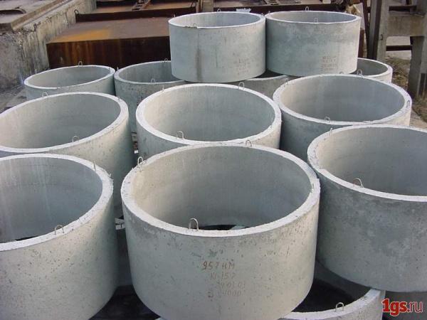 Железобетонные кольца для шахтного колодца