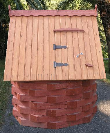 Фото домика для колодца