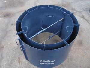 Металлическая форма для заливки