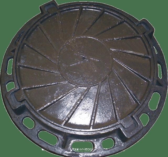 Металлическая крышка для колодца заводского производства