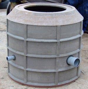 На фото видно – герметизация ввода осуществляется с помощью резиновых уплотнительных колец