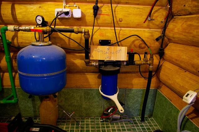 Подводка воды в дом из колодца