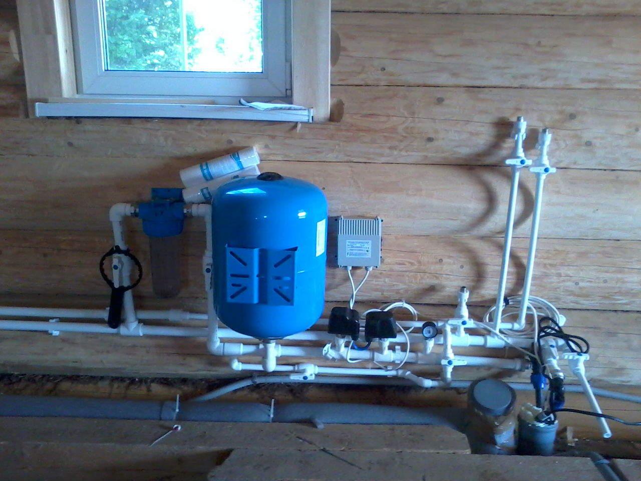 схема водоснабжения без насосной станции