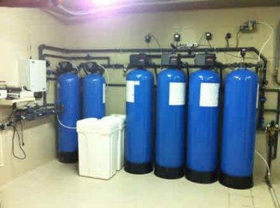 Система водоподготовки может состоять из нескольких последовательно подключенных установок
