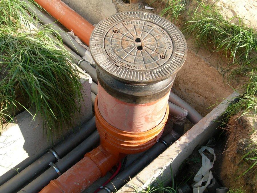 Современный канализационный колодец