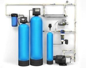 На фото – комплексная система водоочистки в частном доме