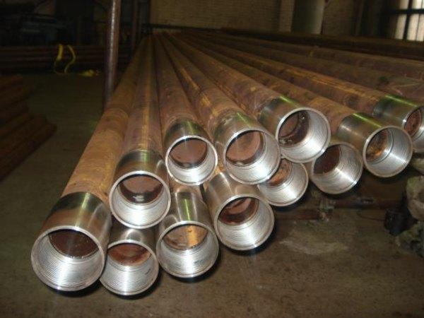 Для изготовления обсадных труб используют черную сталь, так как оцинкованная со временем начинает выделять в воду вредные вещества