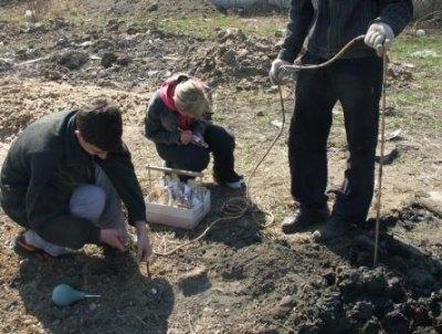Для определения границ санитарной зоны проводятся полевые и камеральные исследования