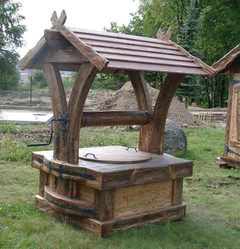 Фото деревянной конструкции
