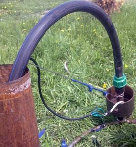Делаем раскачку скважины при помощи насоса