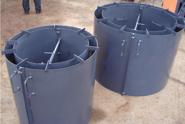 Формы для изготовления стеновых колец