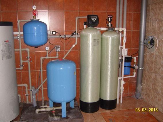 Комплексная очистка воды из скважины