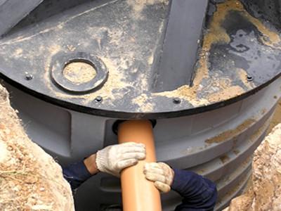 Колодец для канализации своими руками