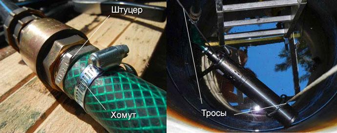 Подготовка глубинного насоса к установке в колодец