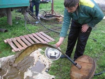 Промывка скважин на воду