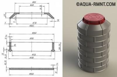 Сборка композитных колец по типу «паз-гребень»