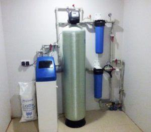 Система водоподготовки воды из скважины в загородном доме