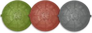 Цветные полимерпесчаные люки
