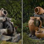 Декоративные фонтанчики