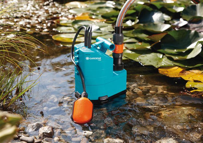 Осушение водоема дренажным насосом