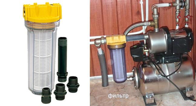 Установка оборудования в сети водопровода