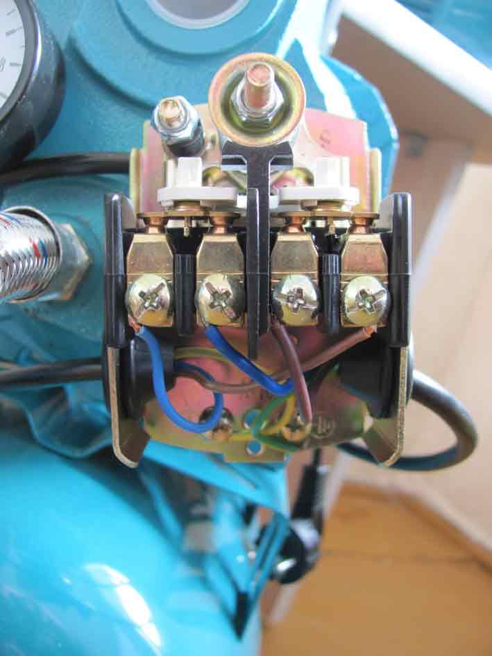 Электрическое подключение реле