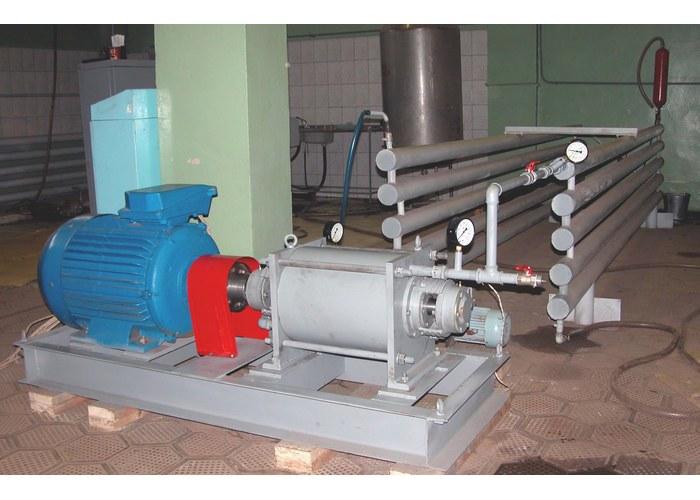 Гидродинамический насос «ТС1», подключенный к системе отопления