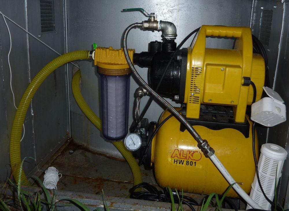Использование шлангов для подключения водопровода на даче