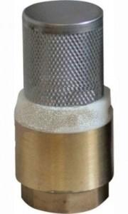 Обратный клапан с сеткой для центробежного насоса