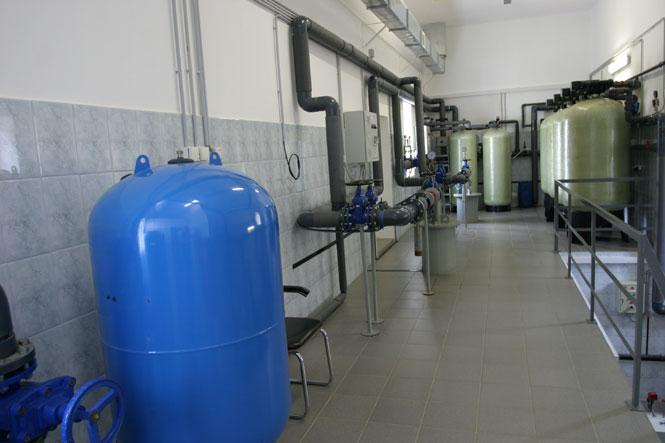 Очистное сооружение для питьевой воды: станция обезжелезивания