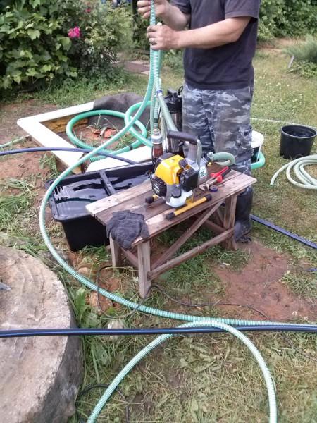 Подготовка компрессора к продувке скважины