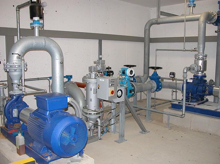 Водопроводная станция II подъёма