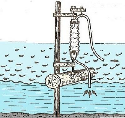 Волновой самодельный насос