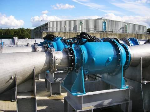Насос промышленный: установка на производственный трубопровод