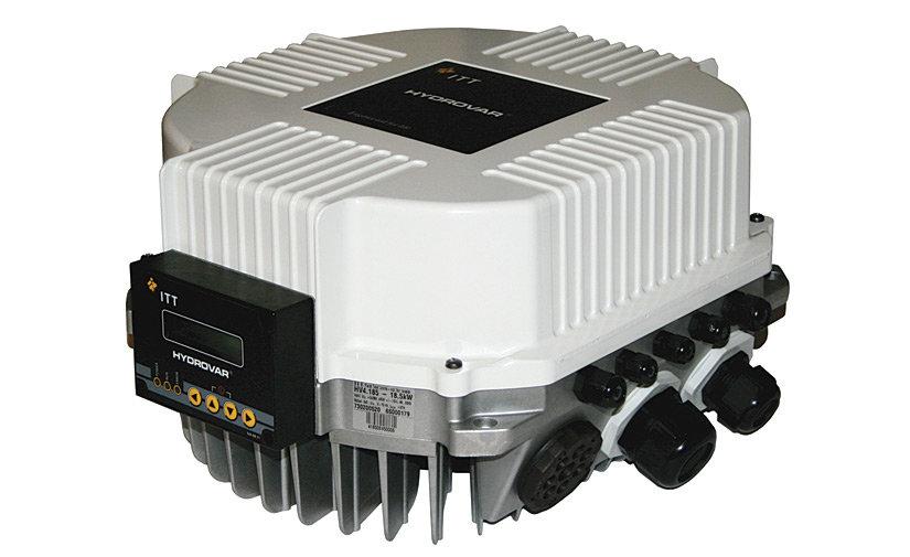 Инверторный блок со встроенным частотным преобразователем