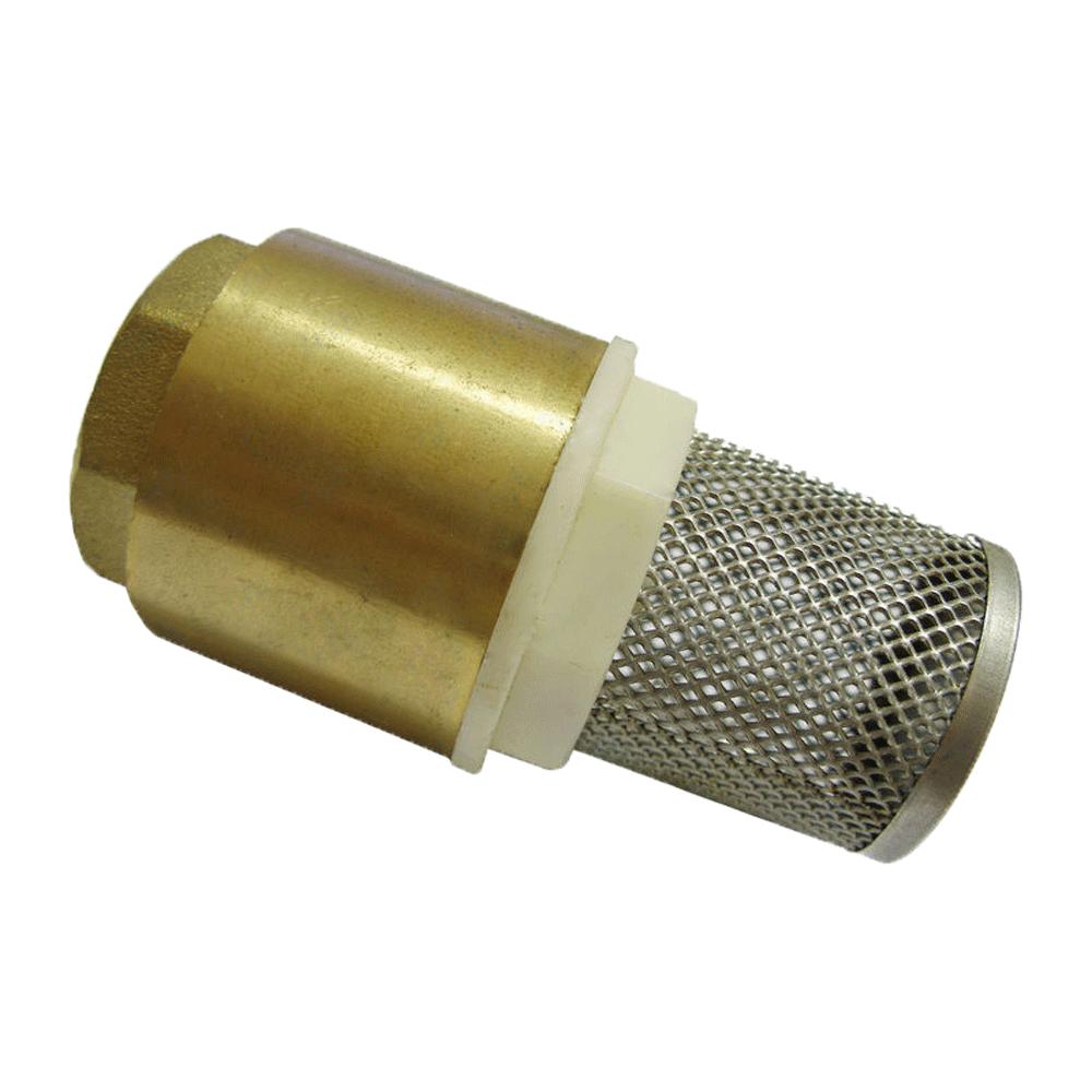 Клапан обратный с сетчатым фильтром