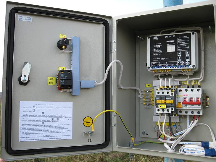 Шкаф управления насосами Grundfos