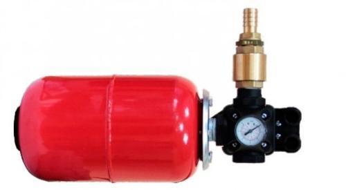 Схема подключения гидробак и реле давления