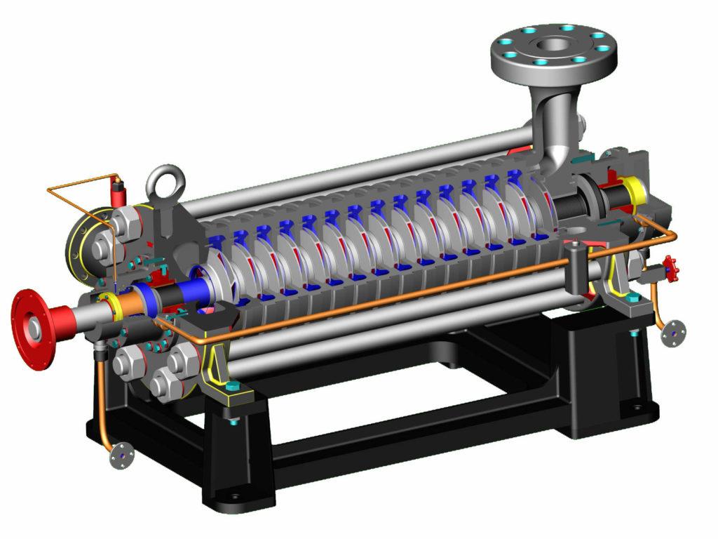 Многоступенчатый центробежный насос: из чего состоит