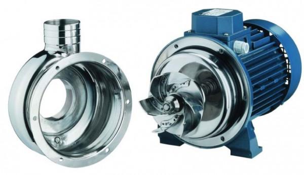На фото – центробежный насос с открытым рабочим колесом