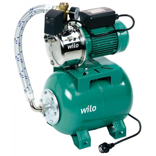 Станция насосная Wilo для повышения давления в системе водопровода